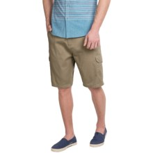 Rio Cargo Shorts (For Men) in Military Khaki - Closeouts
