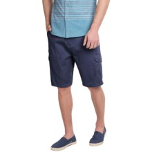 Rio Cargo Shorts (For Men) in Navy - Closeouts