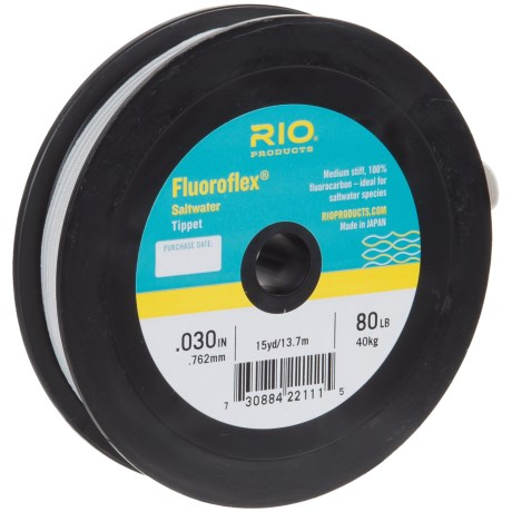 Rio Fluoroflex Saltwater Tippet - 15-20 yds. in See Photo