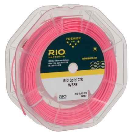 Rio Gold Floating Fly Line - Weight Forward, 90' in Pink - Closeouts