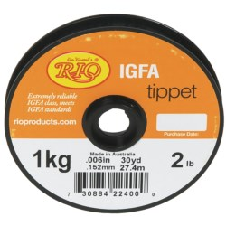 Rio IGFA Tippet - 30 yds. in See Photo