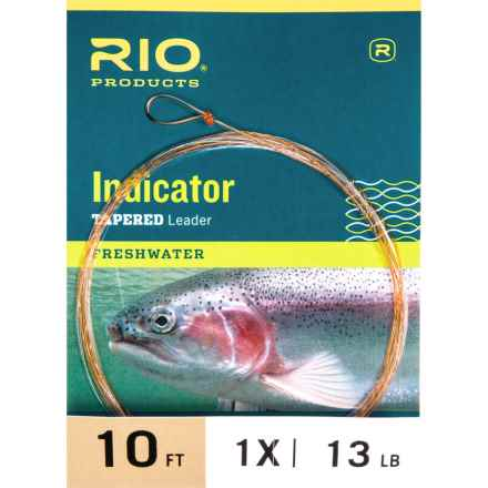 Rio Indicator Fly Leader - 10' in See Photo - Closeouts