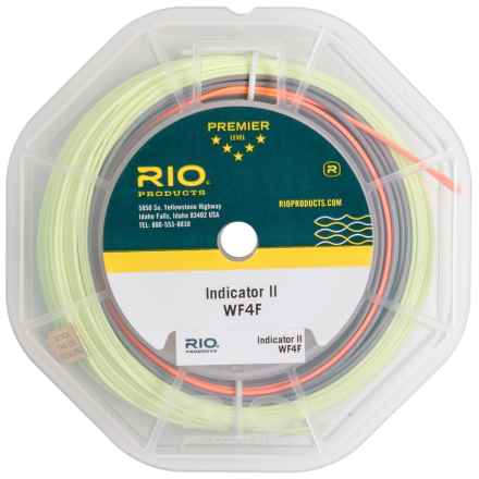 Rio Indicator II Fly Line - Weight Forward, 100' in Gray/Green - Closeouts