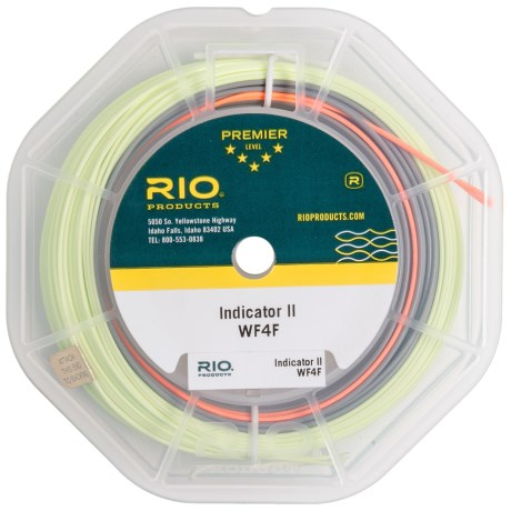 Rio Indicator II Fly Line - Weight Forward, 100' in Gray/Green
