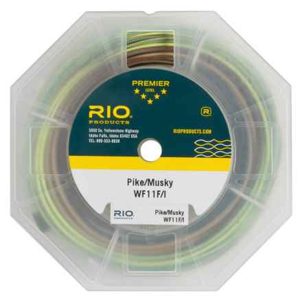 Rio Intouch Pike and Musky Floating-Intermeditate Fly Line - Weight Forward, 100' in See Photo - Closeouts