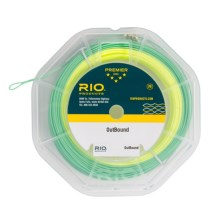 Rio Outbound Saltwater Fly Line - Floating, Weight Forward in Yellow/Green - Closeouts