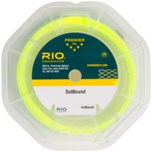Rio Outbound Saltwater Fly Line - Floating/Intermediate, Weight Forward in Clear/Yellow - Closeouts
