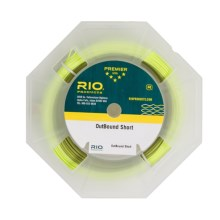Rio Outbound Short Type 1 Sinking Fly Line - Sinking, Weight Forward, in Olive/Yellow - Closeouts