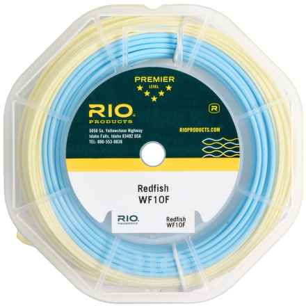 Rio Redfish Saltwater Fly Line - Weight Forward, 100' in Aqua Blue/Sand - Closeouts