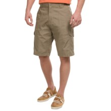 Rio Ripstop Cargo Shorts (For Men) in Khaki - Closeouts