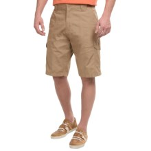 Rio Ripstop Cargo Shorts (For Men) in Tan - Closeouts