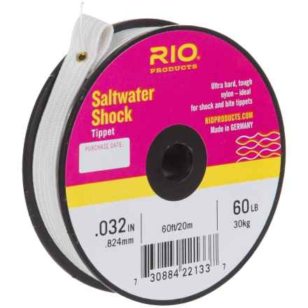 Rio Saltwater Shock Tippet - 60' in See Photo - Closeouts