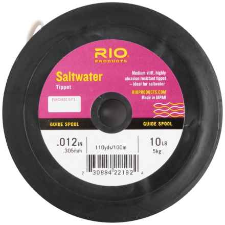 Rio Saltwater Tippet Guide Spool- 110 yds. in See Photo - Closeouts