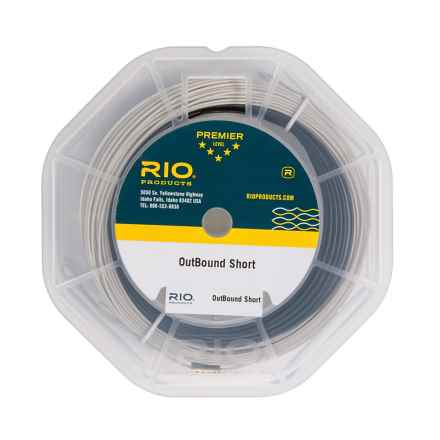 Rio Short Type 6 Fly Line - Sinking, Weight Forward in Black/Trans Gray - Closeouts