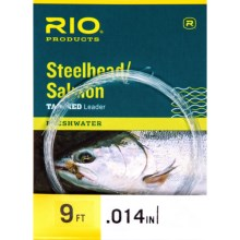 Rio Steelhead and Salmon Fly Leader - 9' in See Photo - Closeouts