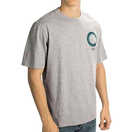 Rio T-Shirt - Short Sleeve (For Men) in Medium Heather Grey - Closeouts