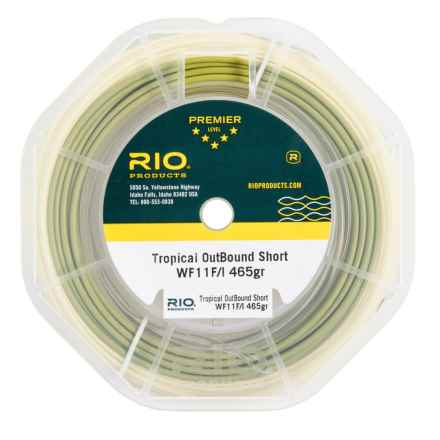 Rio Tropical OutBound Short Saltwater Weight Forward Fly Line - 100' in See Photo - Closeouts