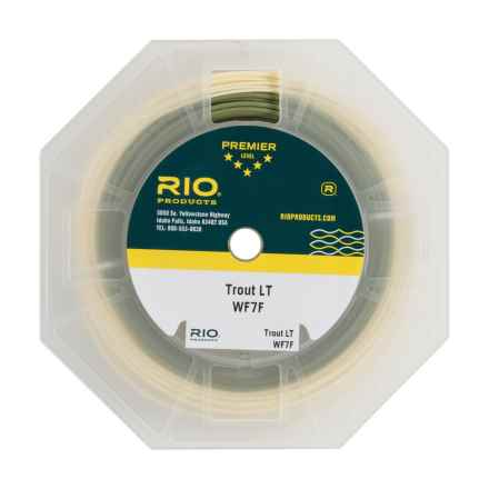 Rio Trout LT Floating Fly Line - Weight Forward, 90' in Camo/Beige - Closeouts
