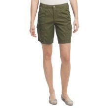 Ripstop Cargo Shorts (For Women) in Breen - 2nds