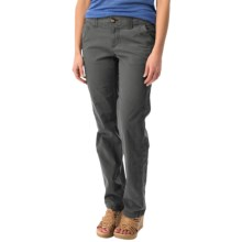 Ripstop Straight-Leg Pants (For Women) in Charcoal - 2nds