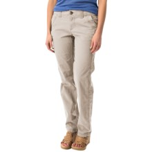 Ripstop Straight-Leg Pants (For Women) in Stone - 2nds