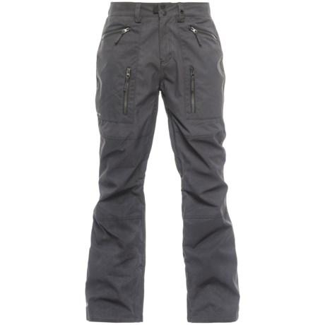 Ripzone Pitch Skinny Ski Pants - Waterproof (For Men) in Black