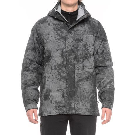 Ripzone Platinum PrimaLoft® Ski Jacket - Waterproof, Insulated (For Men) in Mineral Marble Print
