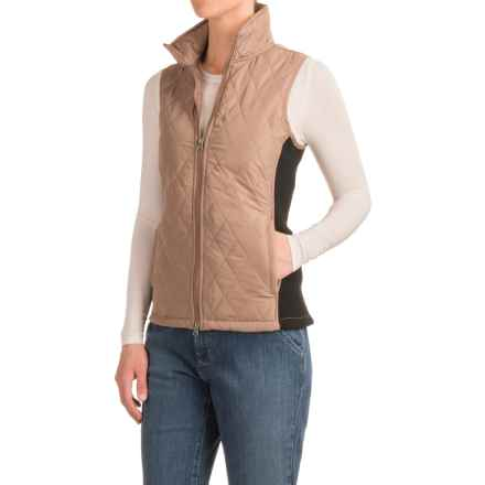 River & Rose Quilted Vest - Insulated (For Women) in Toffee Taupe - Closeouts