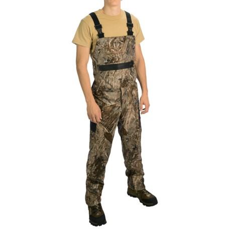 Rivers West Outlaw Lightweight Fleece Bib Overalls - Waterproof (For Men) in Mossy Oak Duck Blind