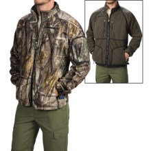 Rivers West Reversible Fleece Jacket - Waterproof (For Men) in Real Tree Ap/Olive Drab - Closeouts