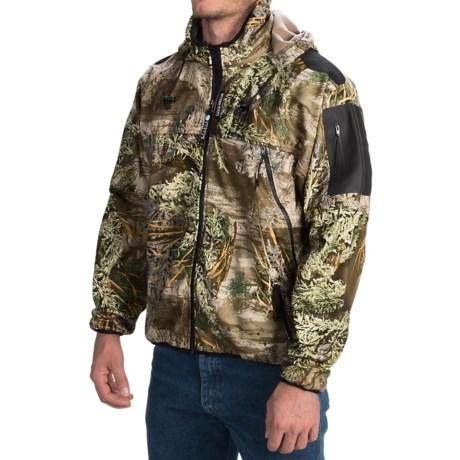 Rivers West Spider Lightweight Fleece Jacket - Waterproof (For Men) in Real Tree Ap