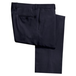 Riviera Alfio Dress Pants - Wool Gabardine, Contemporary Fit (For Men) in Black