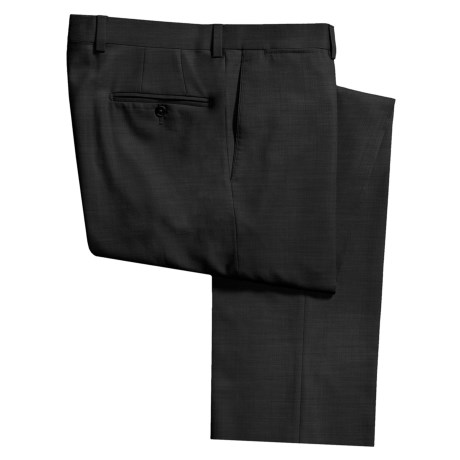 Riviera Alfio Dress Pants - Wool Gabardine, Flat Front (For Men) in Tan