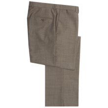 Riviera Armando Dress Pants - Wool (For Men) in Brown - Closeouts