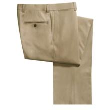 Riviera Armando Fine Wool Gabardine Dress Pants (For Men) in Tan - Closeouts
