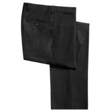 Riviera Armando Tropical Wool Dress Pants (For Men) in Black - Closeouts