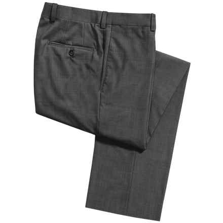 Riviera by Jack Victor Spencer Dress Pants - Tropical Wool (For Men) in Charcoal - Closeouts
