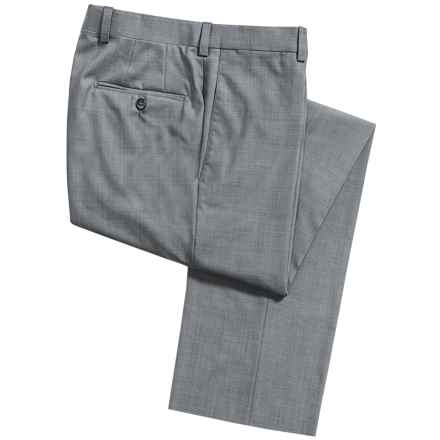 Riviera by Jack Victor Spencer Dress Pants - Tropical Wool (For Men) in Grey - Closeouts