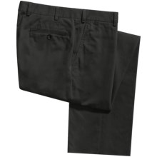 Riviera Calgary Stretch Cotton Pants (For Men) in Black - Closeouts