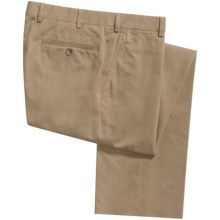 Riviera Calgary Stretch Cotton Pants (For Men) in Tan - Closeouts