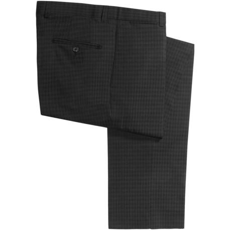 Riviera Harper Check Dress Pants - Wool Blend (For Men) in Black Check