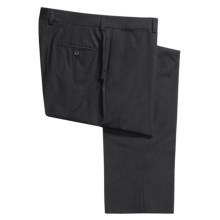 Riviera Harper Tonal Stripe Dress Pants - Merino Wool, Flat Front (For Men) in Navy - Closeouts