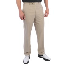 Riviera Harvard Perfect Swing Bedford Weave Golf Pants (For Men) in Tan - Closeouts