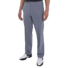 Riviera Harvard Perfect Swing Golf Pants - Waffle Weave (For Men) in Blue - Closeouts