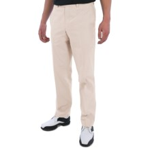 Riviera Harvard Perfect Swing Stripe Golf Pants (For Men) in Light Beige - Closeouts