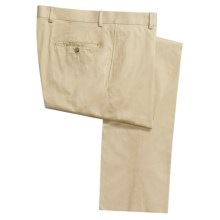 Riviera Hyde Dress Pants - Combed Cotton (For Men) in Stone - Closeouts