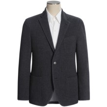Riviera New York Houndstooth Sport Coat - Brushed Jersey (For Men) in Grey/Black - Closeouts