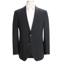 Riviera Panther Blazer - Modern Fit, Stretch Wool Blend (For Men) in Black - Closeouts