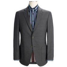 Riviera Panther Double Face Blazer - Modern Fit (For Men) in Grey - Closeouts
