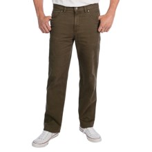 Riviera Red Cambridge Pants - Classic Fit (For Men) in Khaki - Closeouts